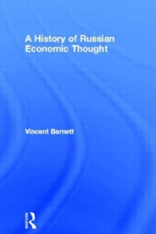 A History of Russian Economic Thought (Routledge History of Economic Thought)