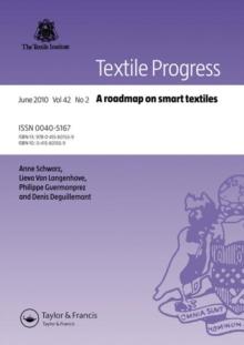A Roadmap on Smart Textiles (Textile Progress)
