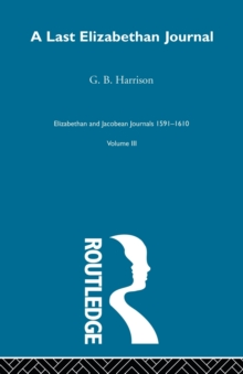 A Last Elizabethan Journal V3