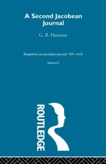 A Second Jacobean Journal V5