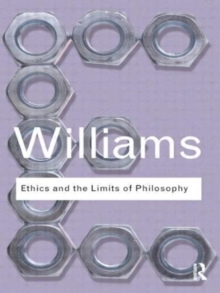 Image for Ethics and the limits of philosophy