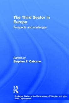 Image for The third sector in Europe  : prospects and challenges