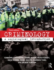 Image for Criminology  : a sociological introduction