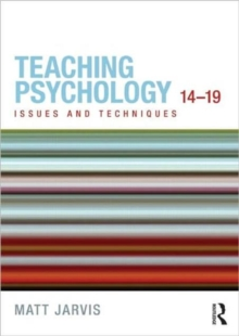 Image for Teaching psychology 14-19  : issues and techniques