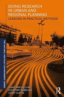 Image for Doing research in urban and regional planning  : lessons in practical methods
