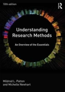 Image for Understanding research methods  : an overview of the essentials