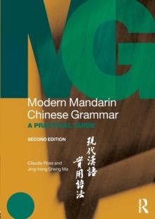Image for Modern Mandarin Chinese grammar  : a practical guide