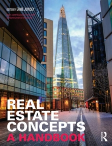 Image for Real estate concepts  : a handbook