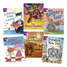 Image for Learn at Home:Star Reading Purple Level Pack (5 fiction and 1 non-fiction book)