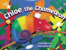 Image for Rigby Star Guided 2 Orange Level, Chloe the Chameleon Pupil Book (single)