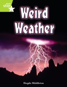 Image for Rigby Star Indep Year 2 Lime Non Fiction Weird Weather Single