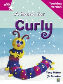 Image for Rigby Star Guided Reading Pink Level: A Home for Curly Teaching Version