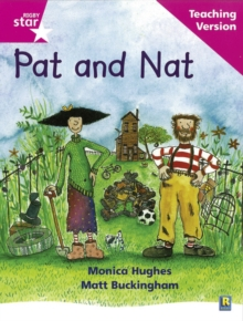 Image for Rigby Star Phonic Guided Reading Pink Level: Pat and Nat Teaching Version
