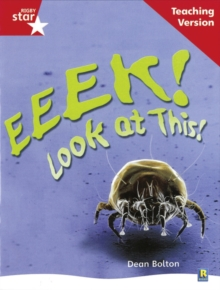 Image for Rigby Star Non-fiction Guided Reading Red Level: Eeek! Look at This! Teaching Version