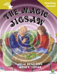 Image for Rigby Star Guided Reading Gold Level: The Magic Jigsaw Teaching Version