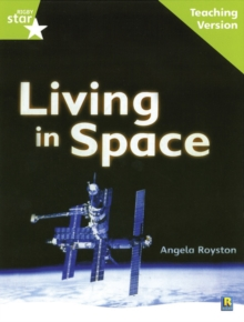Image for Rigby Star Guided Lime Level: Living in Space Teaching Version