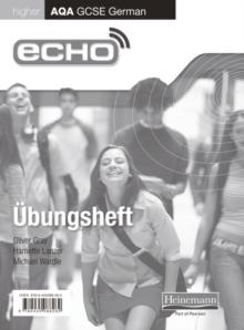Image for EchoHigher AQA GCSE German,: Workbook