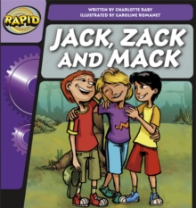 Image for Rapid Phonics Jack, Mack and Zack Step 2 (Fiction) 3-pack
