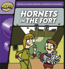 Image for Rapid Phonics Hornets in the Fort Step 2 (Fiction) 3-pack
