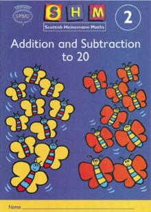Scottish Heinemann Maths 2: Addition and Subtraction to 20 Activity Book 8 Pack -