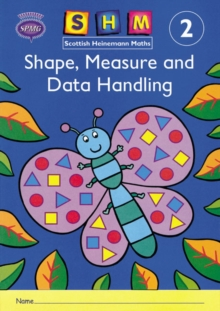 Scottish Heinemann Maths 2: Shape, Measure and Data Handling Activity Book 8 Pack -