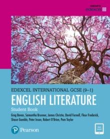 Image for Pearson Edexcel International GCSE (9-1) English Literature Student Book