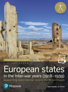 Image for Pearson Baccalaureate History Paper 3: European states in the inter-war years (1918-1939) : Industrial Ecology