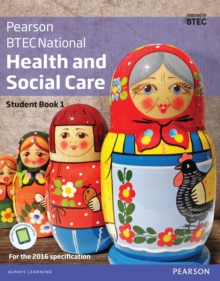 BTEC National Health and Social Care Student Book 1 - Billingham, Marilyn