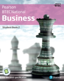 BTEC Nationals Business Student Book 2: For the 2016 specifications - Richards, Catherine