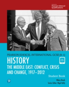 Image for History: The Middle East - conflict, crisis and change, 1919-2012
