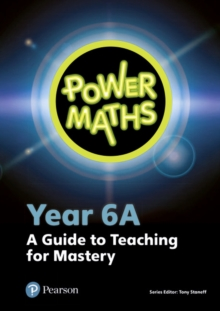Image for Power maths: Year 6A