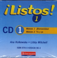 Image for Listos 1 Audio CDs 1-3 Pack 2006 Edition