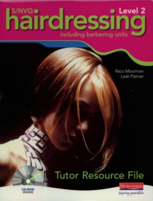 Image for S/NVQ Level 2 hairdressing  : including barbering units: Tutor resource file