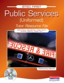 Image for BTEC First Public Services Uniformed Tutor Resource File