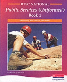 Image for BTEC national public services (uniformed)Book 1