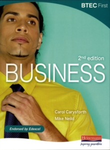 Image for BTEC First Business Student Book