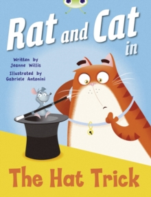 Image for Bug Club Guided Fiction Reception Red A Rat and Cat in the Hat Trick