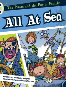 Image for Bug Club White A/2A The Pirate and the Potter Family: All at Sea