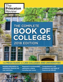 Image for The complete book of colleges