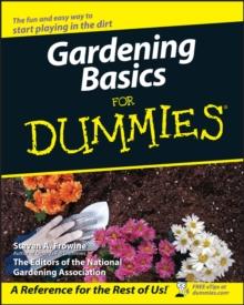 Image for Gardening basics for dummies