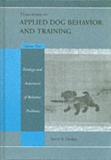 Image for Handbook of Applied Dog Behaviour and Training. Vol. 1 Principles of Behavioural Adaption and Learning