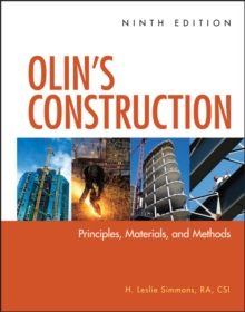 Image for Olin's construction  : principles, materials, and methods