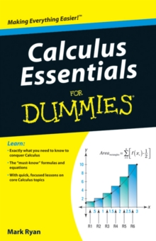 Image for Calculus essentials for dummies