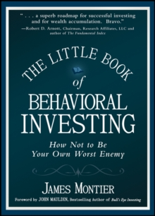 Image for The little book of behavioral investing  : how not to be your own worst enemy
