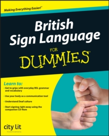 Image for British sign language for dummies