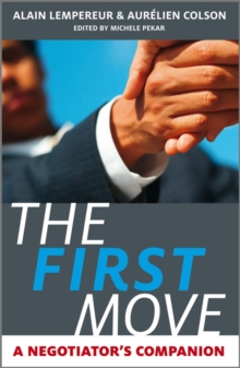 Image for First things first  : a negotiator's companion