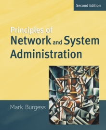 Image for Principles of network and system administration