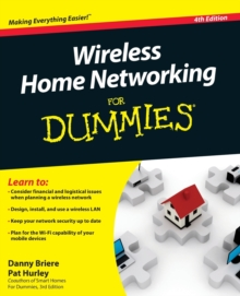 Image for Wireless home networking for dummies