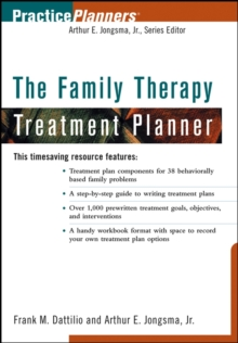 Image for The family psychotherapy treatment planner