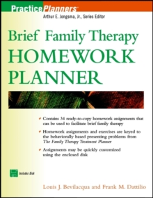 Image for Brief family therapy homework planner